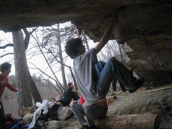 Bouldering na Zareèkom
